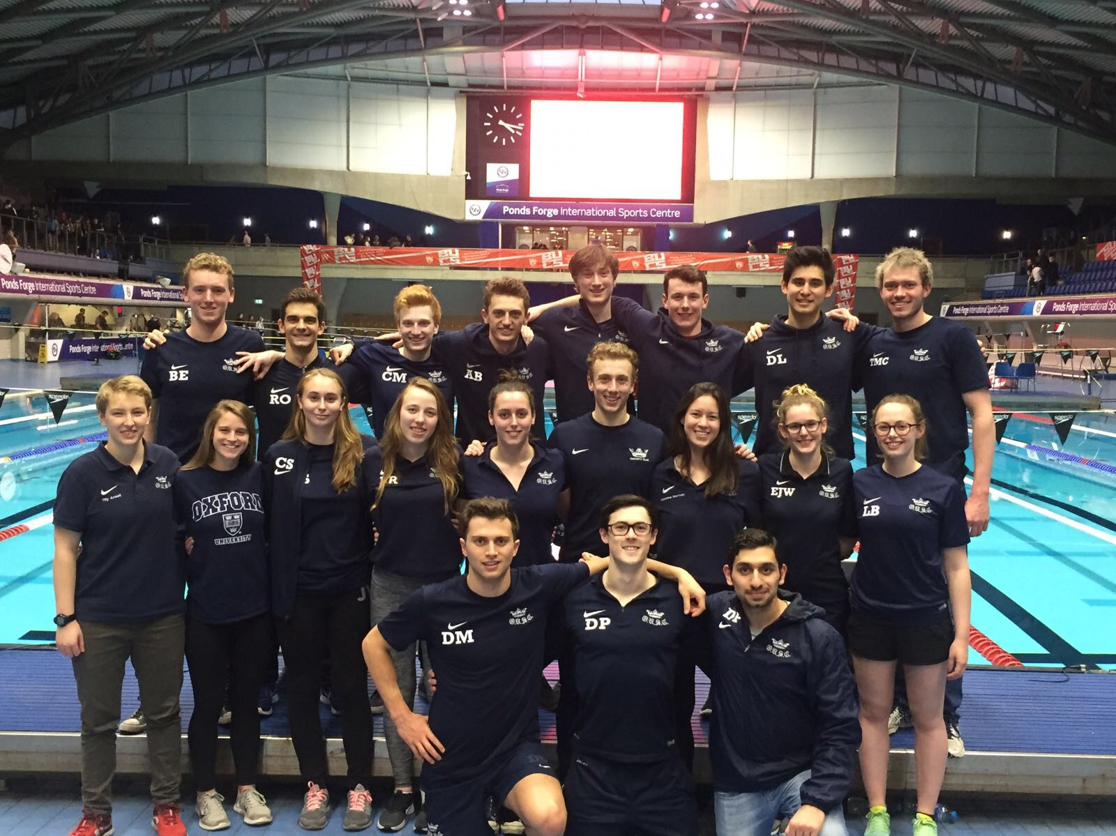 Blues Times Galore for OUSC at BUCS Short Course